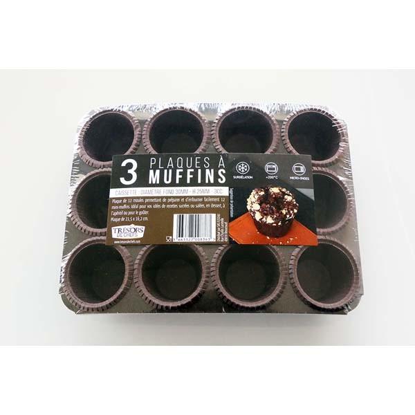 Plaque 12 caissettes - x3