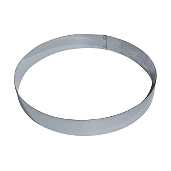 Cercle entremet inox - 20 cm
