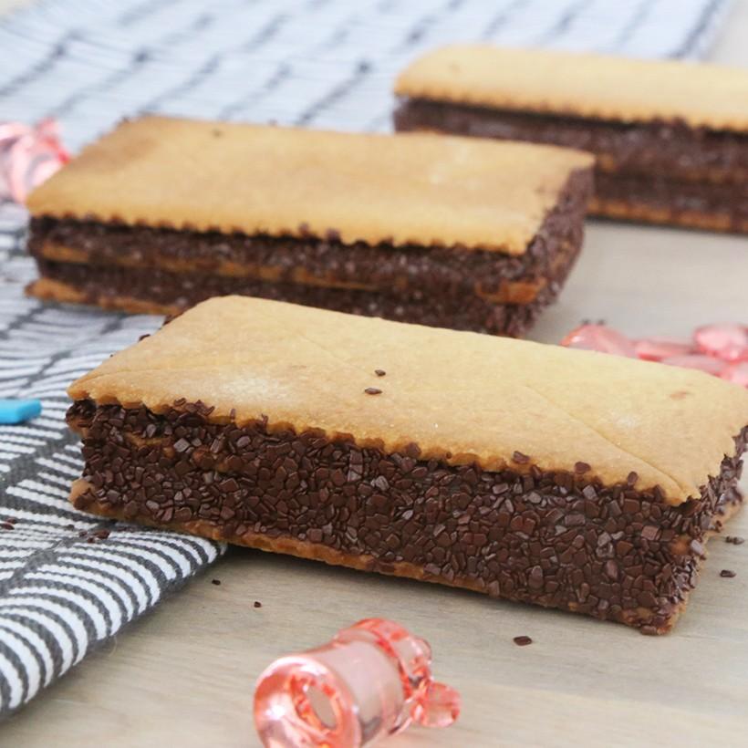 Recette biscuits enveloppes surprises