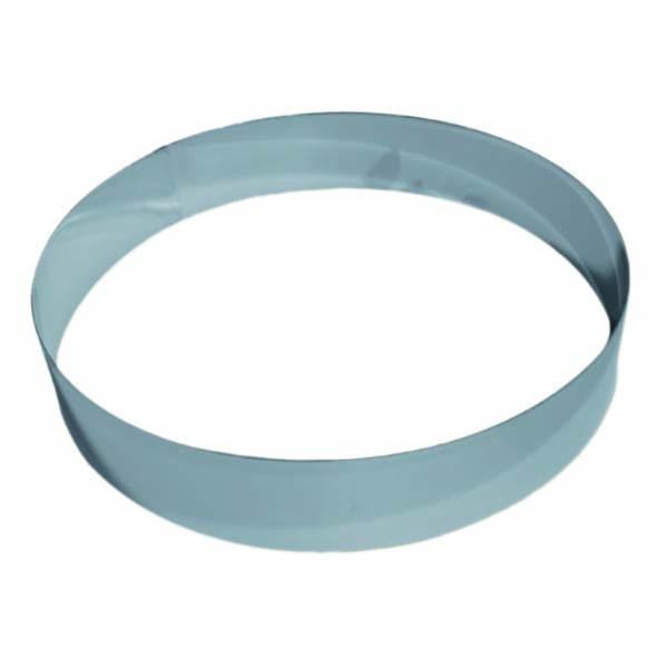 Cercle inox mousse - 20 cm