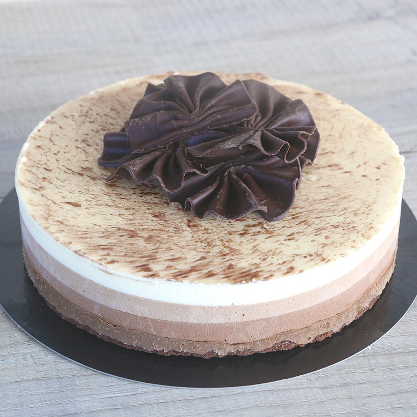 Recette de gâteau 3 chocolats