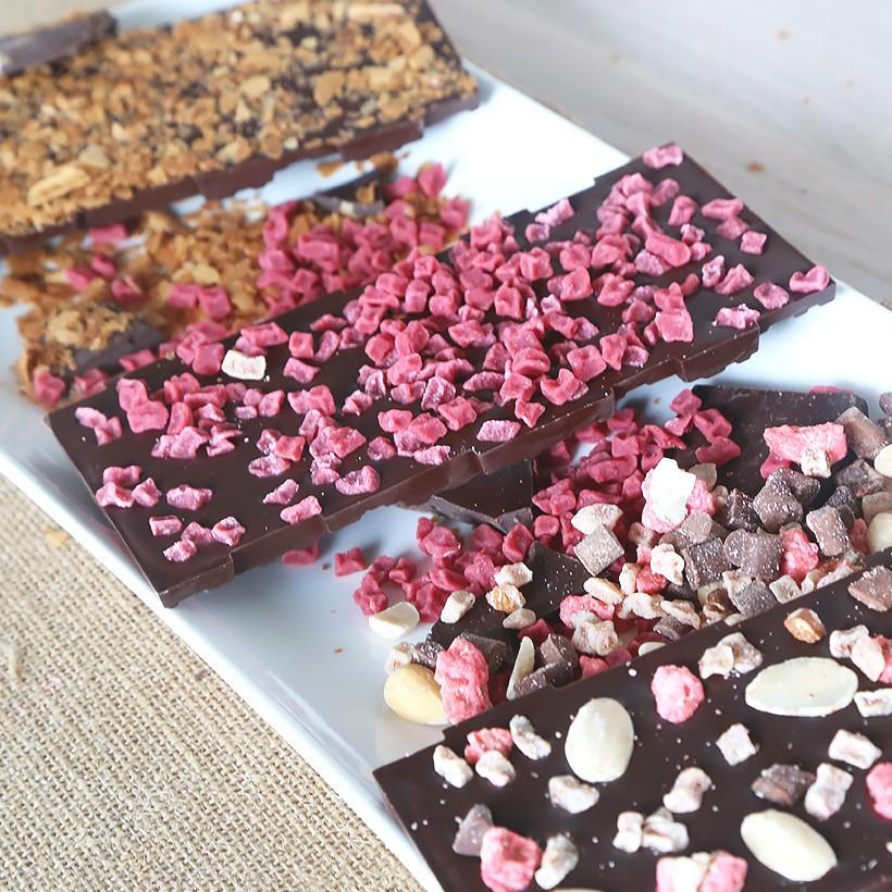 Recette de tablettes de chocolat originales