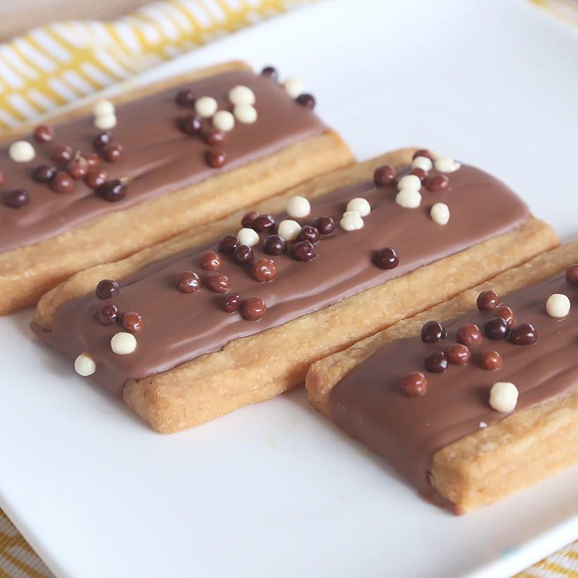 Recette de biscuits chocolat caramel