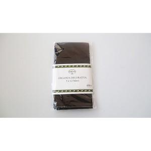 Tissu en organza noir