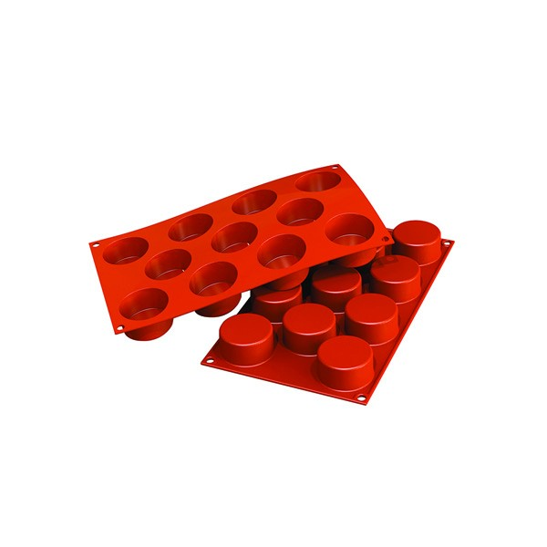 Moule silicone 11 cylindres