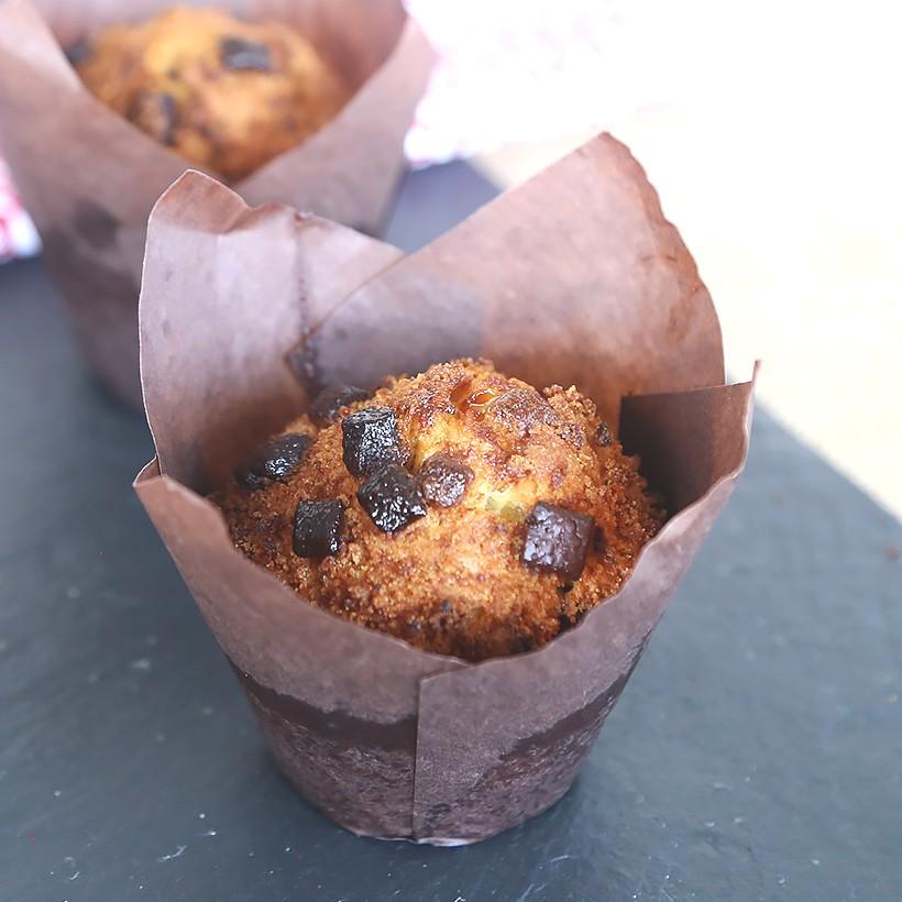 Recette de muffins 3 chocolats