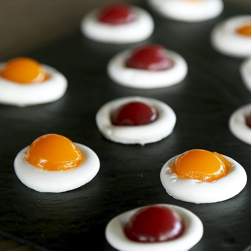 Recettes de bonbons guimauve fraise/mangue abricot