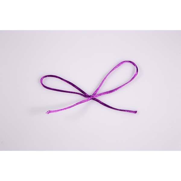Ruban cordon queue de rat violet