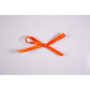 Ruban picot - Orange