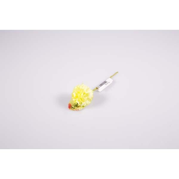 Piquet oeillet jaune