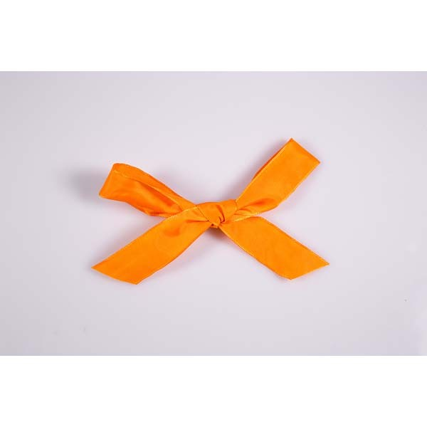 Ruban uni orange - 15 mm x 25 mts