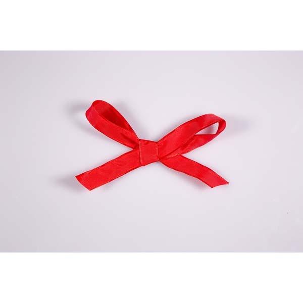 Ruban uni rouge - 25 mm x 25 mts