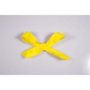 Ruban uni jaune soleil