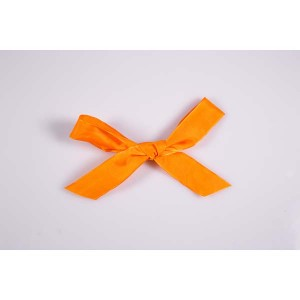 Ruban uni orange - 25 mm x 25 mts