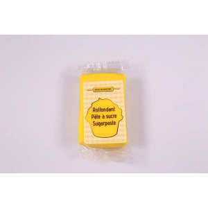 Pâte à sucre jaune - Jaune