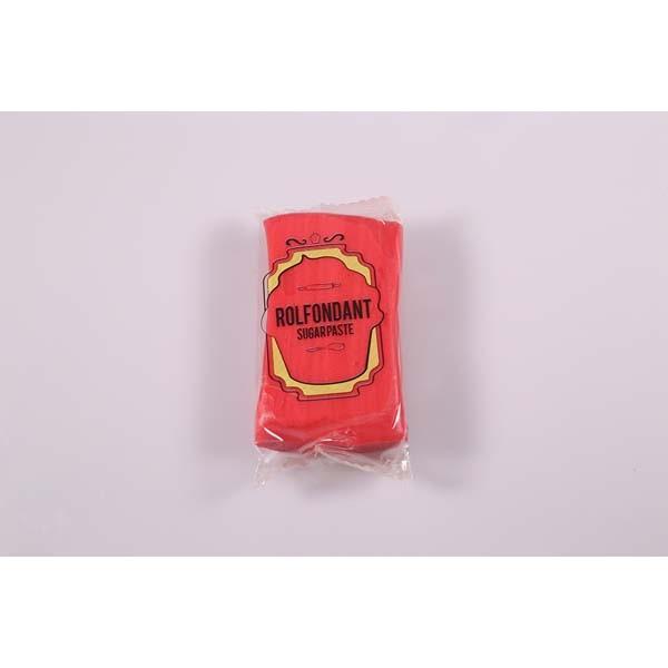 Pâte à sucre rouge - Rouge