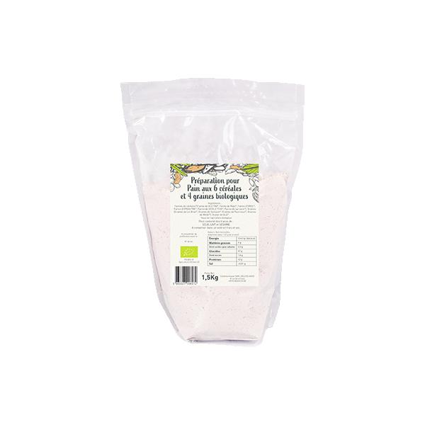 Farine 6 céréales - BIO