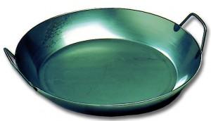 Plat à Paella Tôle Noire 36 cm - 36 cm