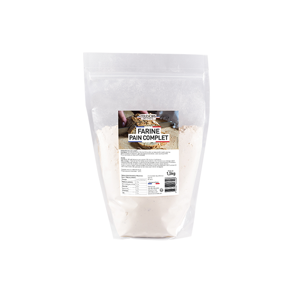 Farine Pain Complet - 1,5 kg