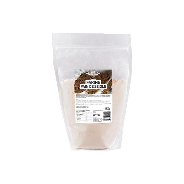 Farine de pain de seigle - 1,5 kg