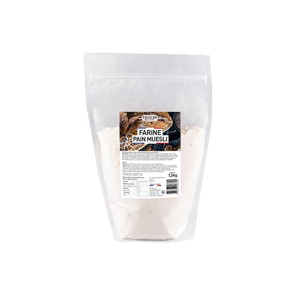 Farine pain muesli - 1,5 kg