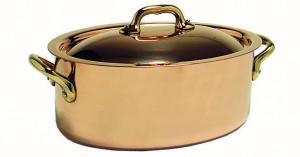 Cocotte Ovale avec Couvercle - ELEGANCE 20 cm - 20 cm