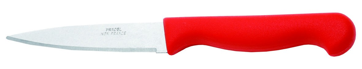 Couteau d'office rouge 7cm