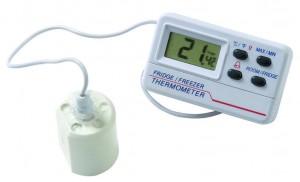 """Thermomètre """"frigo"""" électronique à alarme"""