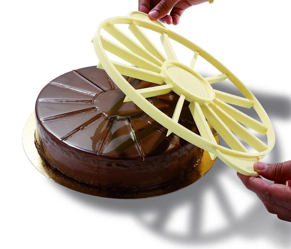 Marqueur-diviseur à gâteau 12/18 Parts - 12/18 Parts