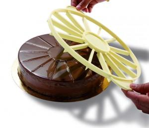 Marqueur-diviseur à gâteau 16 Parts - 16 Parts