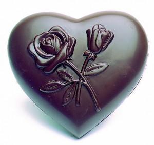 Coeurs décoré fleurs