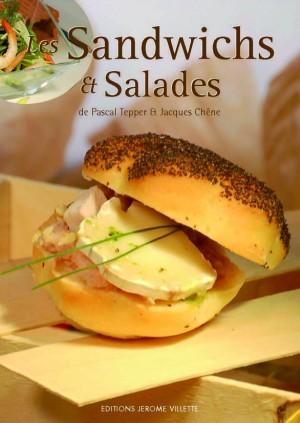 Les sandwiches et salades.