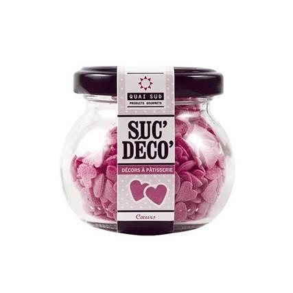Décors à Cupcakes - Petits Coeurs