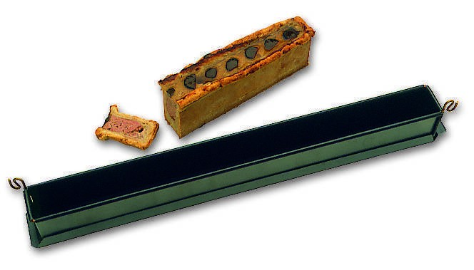 Mini pâté en croûte uni avec fond exopan B  - B