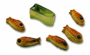 Découpoir poisson-toast