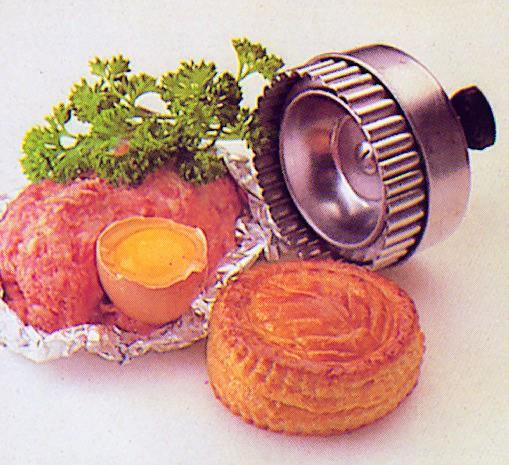 """Découpoir rond cannelé à pâte """"parisien"""""""