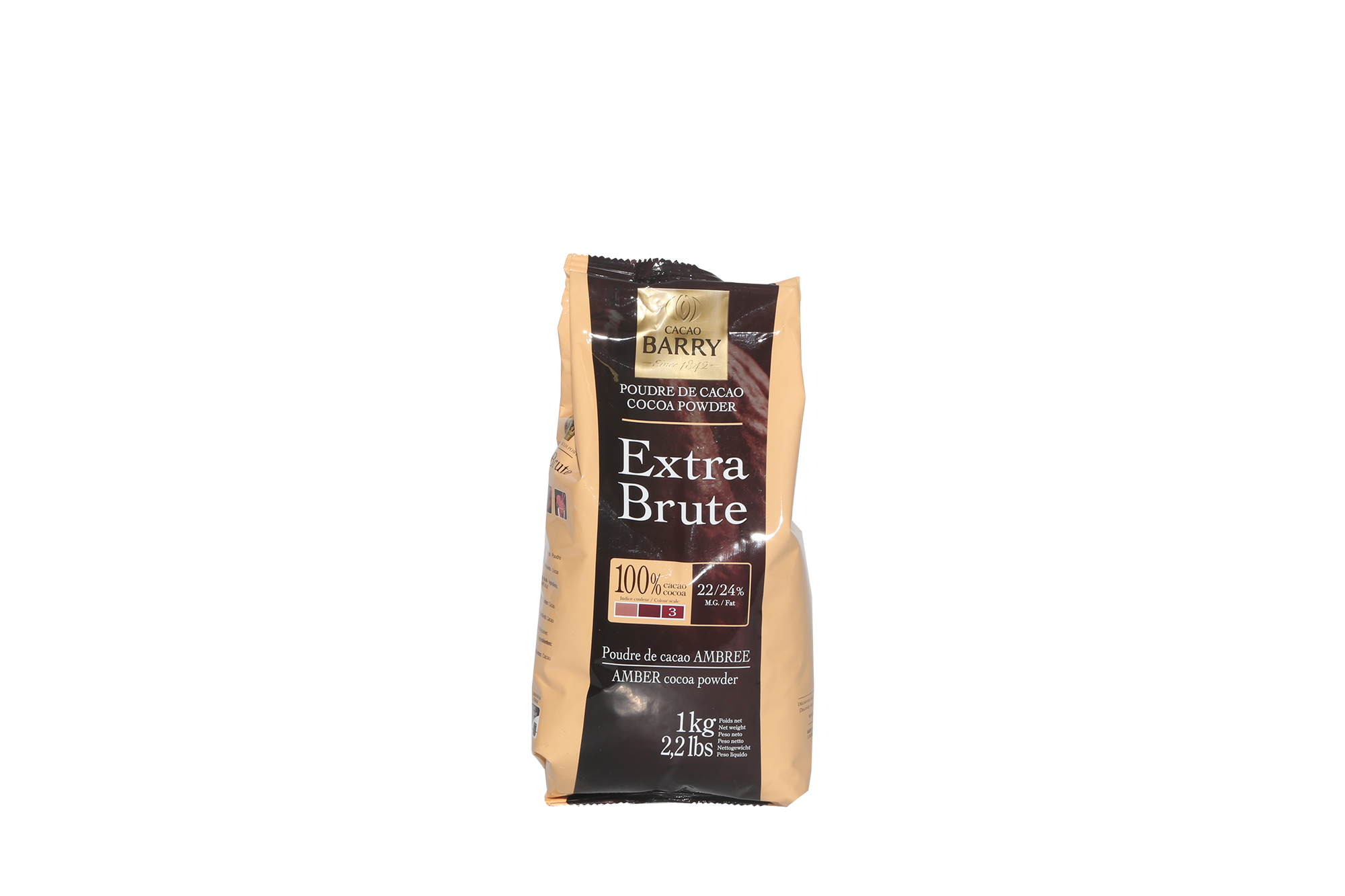 Poudre de cacao Extra Brute - 1 kg