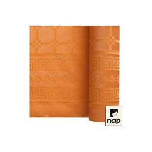 Nappe papier Mandarine - 1.20M X 6M