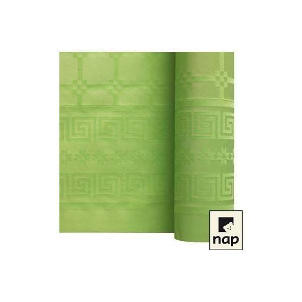 Nappe papier Vert Pistache - 1.20M X 6M