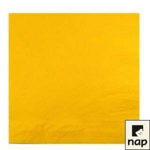 Serviettes - Jaune Citron - Paquet de 100