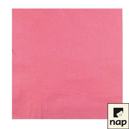 Serviettes - Rose - Paquet de 100