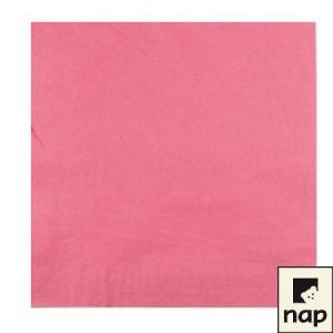 Serviettes - Rose - Paquet de 100