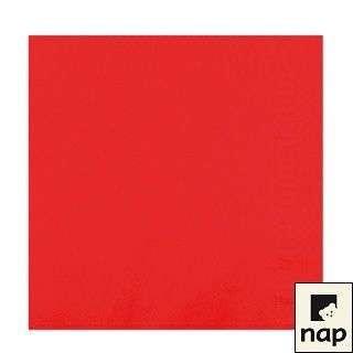 Serviettes - Rouge - Paquet de 100