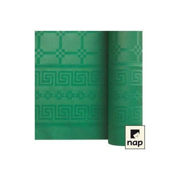 Nappe papier vert lumière - 1.20M X 6M