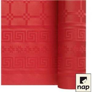 Nappe papier rouge - 1.20M X 6M