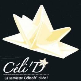 Serviette plié étoile - Ivoire - Paquet de 12
