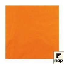 Serviettes - Mandarine - Paquet de 100