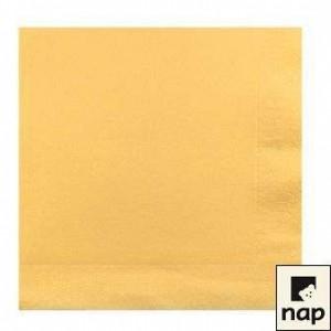 Serviettes cocktail - Vanille - Paquet de 100