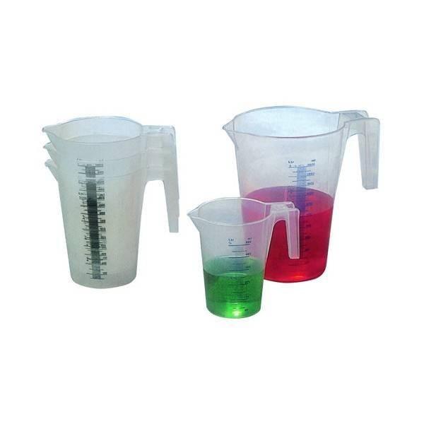 Pot gradué plastique 0.5 L - 0.5 L