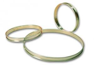 Cercle à tarte fer blanc. 26 cm - 26 cm